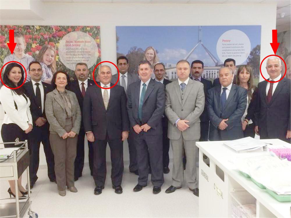 فضيحة دبلوماسية في السفارة العراقية في كانبيرا
