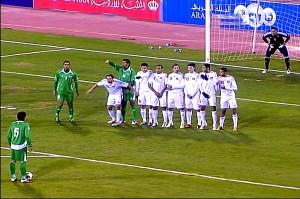 منتخب أسود الرافدين يسقط منتخب النشامى بالثلاثة ضمن تصفيات مونديال 2014