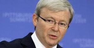 كيفن راد صرح بأن جوليا كيلارد لم تستشره بشأن بيع اليورانيوم للهند