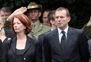 توني أبوت أتهم جوليا كيلارد بأنها أضاعت فرصة التباحث في  حماية حدود أستراليا بشكل جذري