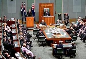 أستقالة رئيس البرلمان الفيدرالي هاري جينكينز من منصبه