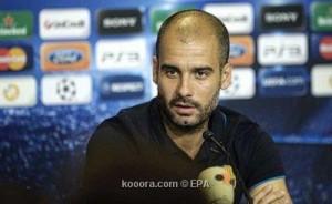 جوارديولا مدرب برشلونة يهون من أهمية لقاء القمة امام ريال مدريد