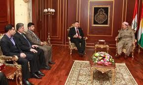 رئيس إقليم كردستان يستقبل وفدا من التيار الصدري