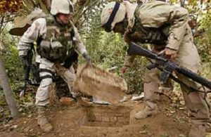 الرجل الذي أخفى صدام: حفرت له