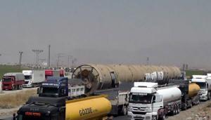 بالصور.. وصول برج كبير لتصفية النفط الى اقليم كردستان